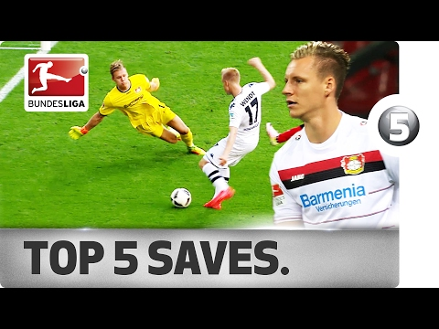 Bernd Leno - Top 5 Saves of 2016/17 So Far ...