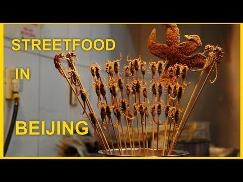 Street Food in Beijing | Wangfujing Street | China