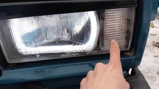 ангельские глазки ваз 2107 (семерка). Обзор моей машины