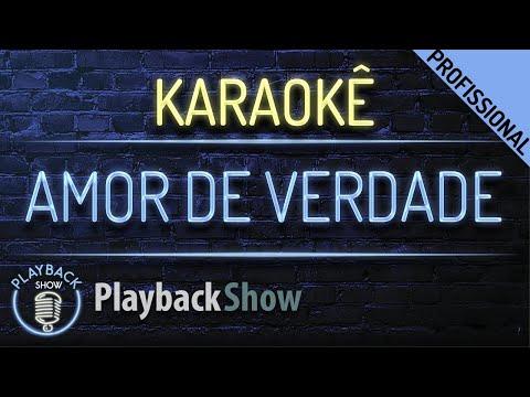 Amor de Verdade Karaokê Playback - MC Kekel e MC Rita