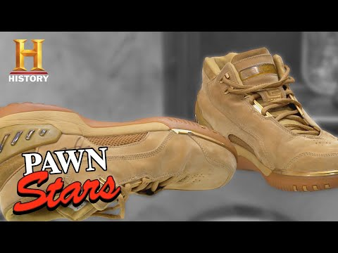 Pawn Stars: Chumlee Knows His Kicks | History