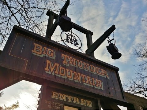 Loop/Musiques file d'attente Big Thunder Mountain - Disneyland Paris