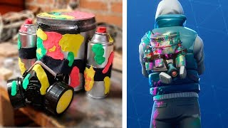 FORTNITE Graffiti Backpack in REAL LIFE