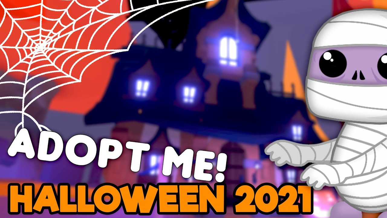 HALLOWEEN UPDATE in Adopt Me 🧟 NEW PETS & MINIGAMES (Roblox)