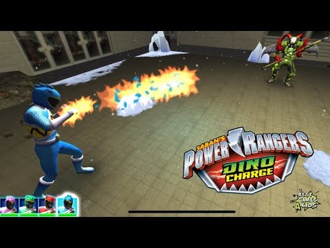 Power Rangers Dino Charge Rumble   New  Challenge: CRITTER CONTROL!