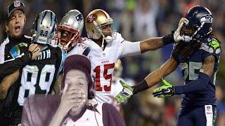 LOL JJ WATT'S A SAVAGEEE! NFL TRASH TALK MIC'D UP REACTION
