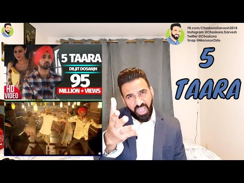 reaction-from-norway;-5-taara---diljit-dosanjh- -jatinder-shah---speed-records