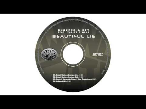 Bhokero & Dey feat. Tasita D'Mour - Beautiful Lie (Grant Nelson Garage Vox)