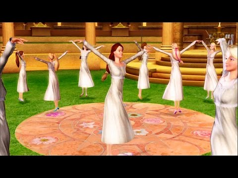 Barbie in The 12 Dancing Princesses - First dance in the magical kingdom (ballet)