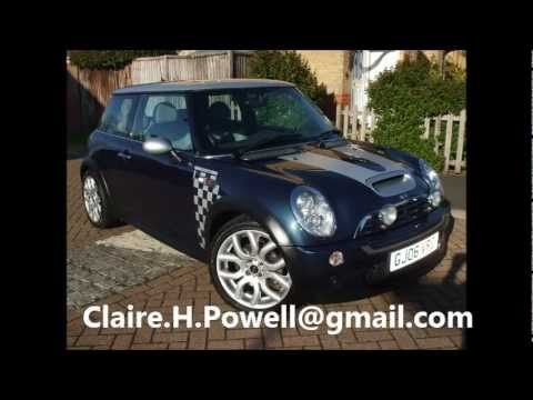 for sale 2006 mini cooper s checkmate e mail me at claire h powell youtube. Black Bedroom Furniture Sets. Home Design Ideas