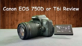 Canon EOS 750D or T6i Full Hands-on Review with Real Life Image & Video Samples