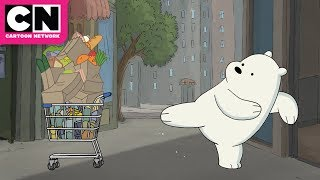 We Bare Bears | Grizz Prepares for Hibernation | Cartoon Network