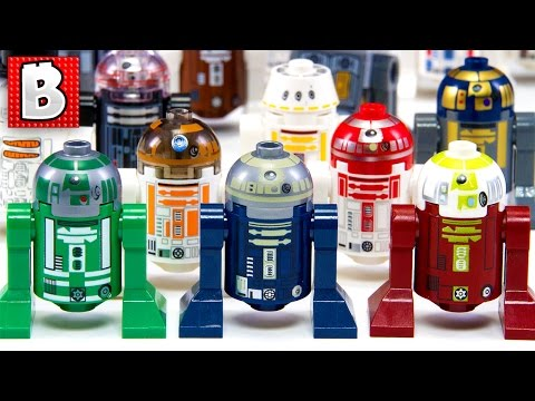 Every Lego Astromech Droid Ever Made!!! | Star Wars Collection Review