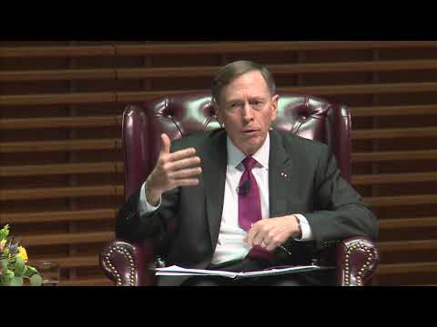 General David Petraeus, Former Director Of The CIA And Chairman Of The KKR Global Institute