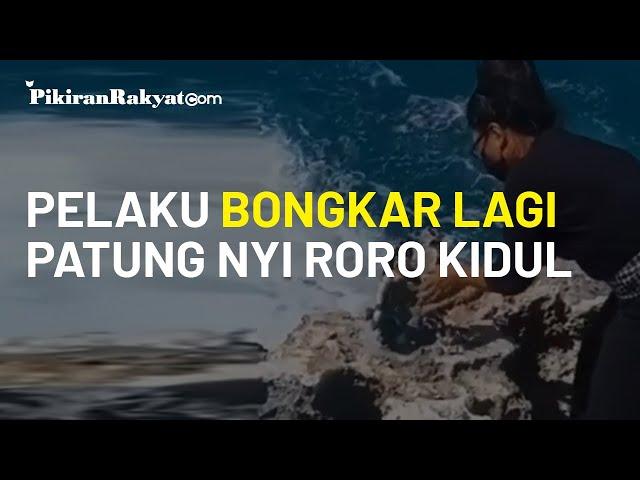Sempat Bikin Heboh Warganet, Patung Nyi Roro Kidul yang Tiba-tiba Terpasang di Bali Dibongkar Pelaku