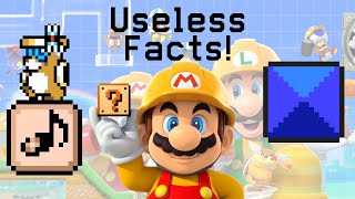Useless Super Mario Maker 2 Facts!