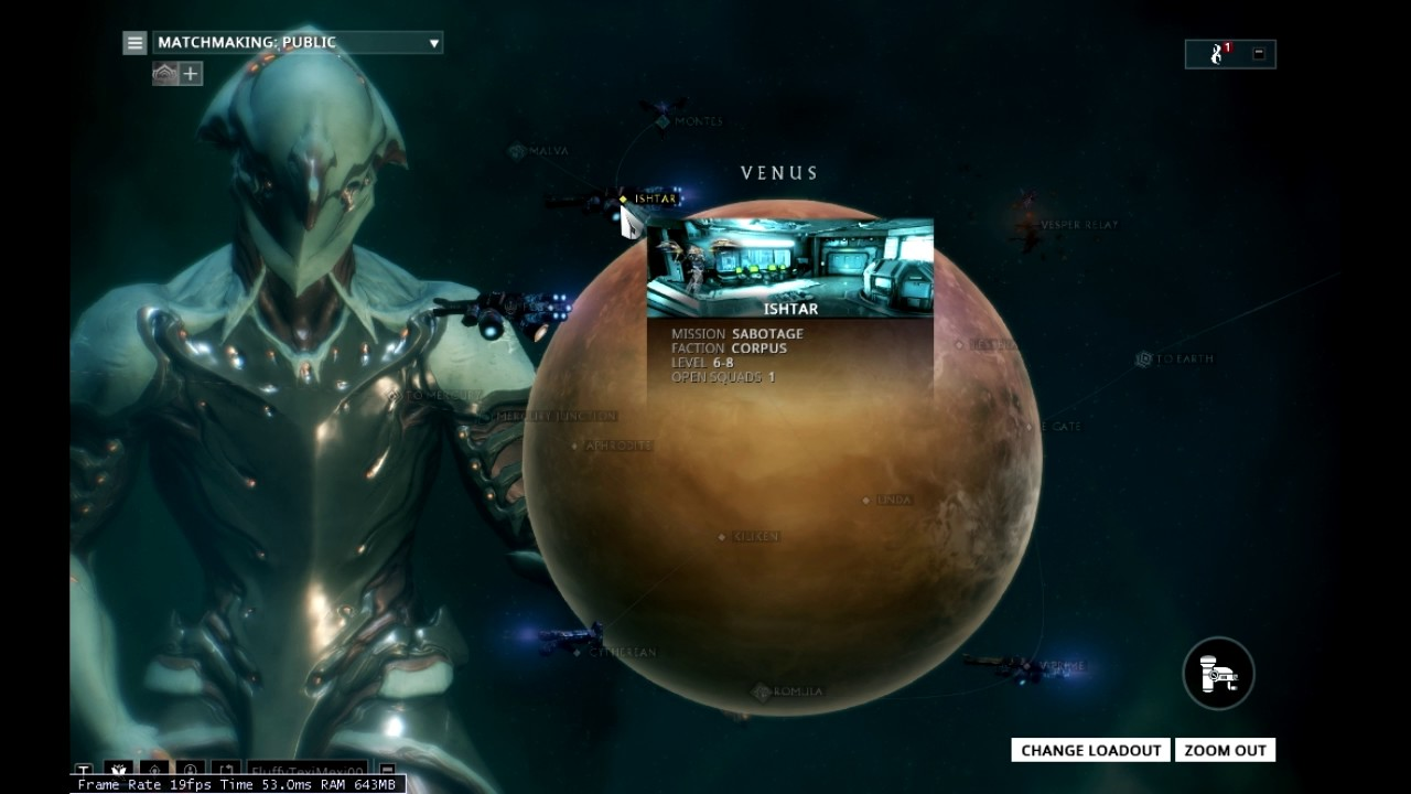 Warframe-Most common place to find Eximus on Venus