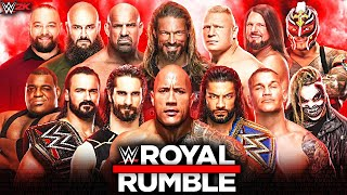 ... the 2021 royal rumble is an upcoming professional wrestling pay-per-view and wwe network