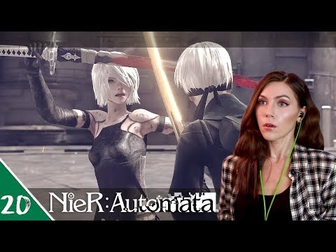 God Box - Recovery Tower 3 | NieR: Automata Pt. 20 | Marz Plays