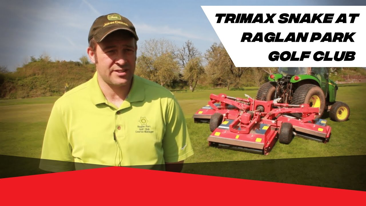 Snake - Sports Turf Mower for Compact Tractors | Trimax Mowing