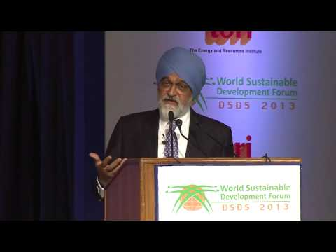 Montek Singh Ahluwalia: Sustainbility will be achieving a change of mindset - DSDS 2013