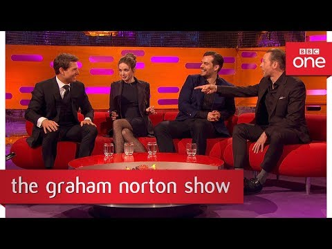 Tom Cruise & Simon Pegg teased Henry Cavill while filming  The Graham Norton   BBC One