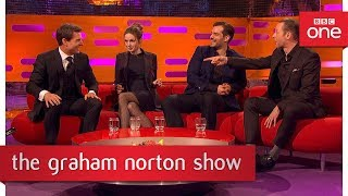 Tom Cruise & Simon Pegg teased Henry Cavill while filming - The Graham Norton Show - BBC One