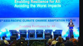 Asia Pacific Adaptation Forum(Oceans-Lifeline of Resilience)