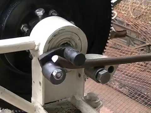 Maquina casera riza dobla torsiona rola y hace pi as todo - Soldadura en frio ...