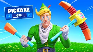 NO PICKAXE Challenge! (CRAZY)