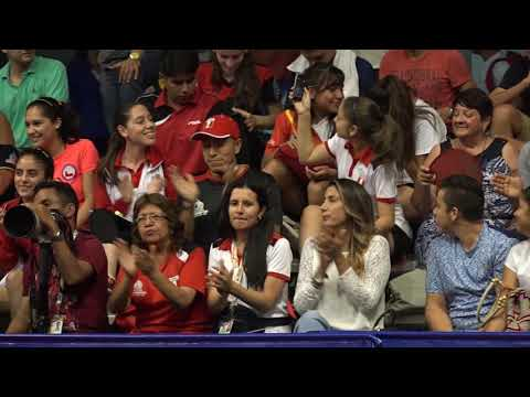 Tenis de Mesa...Final masculina Juegos Bolivarianos nov 17