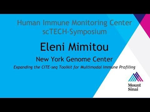 Mount Sinai HIMC scTECH-Symposium 2018: Eleni Mimitou
