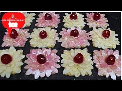 Muhtesem Bademli Çiçek Kurabiye Tarifi - Gülsümün Sarayi