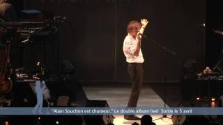 Alain Souchon est chanteur - vidéo de la tournée