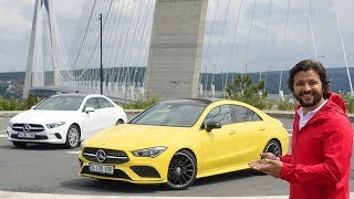 Mercedes A Sedan ve Mercedes CLA Test Sürüşü - Aralarında fark var mı?