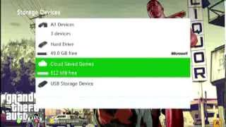 How To Use Xbox 360 USB Flash Drive Storage(This video will show how you can very easily store games, demos, music, videos, and more on flash drives, external hard drives, or any other USB drives over 1 ..., 2014-01-12T20:13:41.000Z)