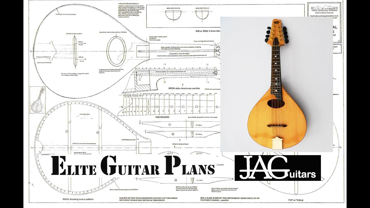 Build a mandolin youtube for How to make a house blueprint