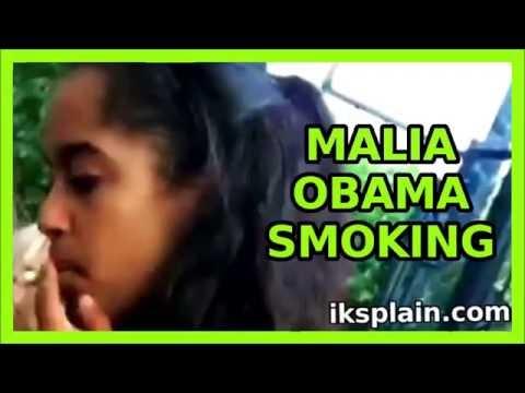 La hija de Barack Obama ¿fumando marihuana?