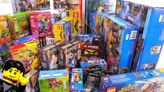 New largest Toys R Us haul! 2018 LEGO & Mega sets 📦 #213