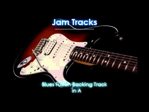Funk Blues Fusion Backing Track (A)