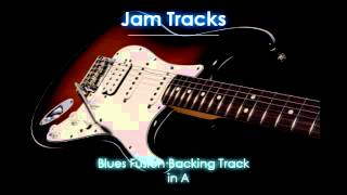 Repeat youtube video Funk Blues Fusion Backing Track (A)