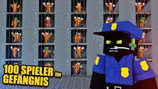 100 SPIELER in einem GEFÄNGNIS - Minecraft Server 1.15 [Deutsch/HD]