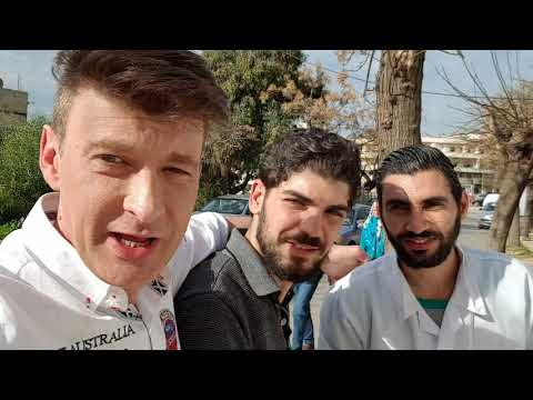 Tartous Syrien 18.12. 17 Kunstprojekt