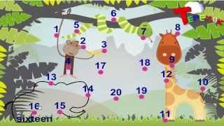 Английский для малышей  Цифры Счет до 10 на английском языке для детей  Учимся считать по-английски