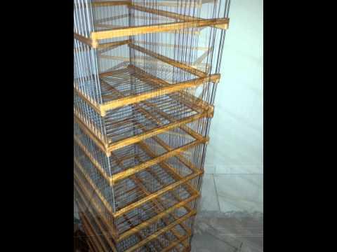 fabrication cage chardonneret en bois funnydog tv. Black Bedroom Furniture Sets. Home Design Ideas