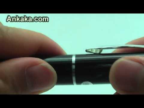 Digital Pocket Video Recorder (8GB Spy Edition) - DV Camcorder Spy Pen | Spy Pen Review