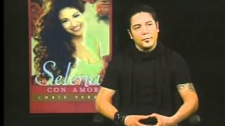 Con Chris Perez habla sobre el libro de su vida con Selena