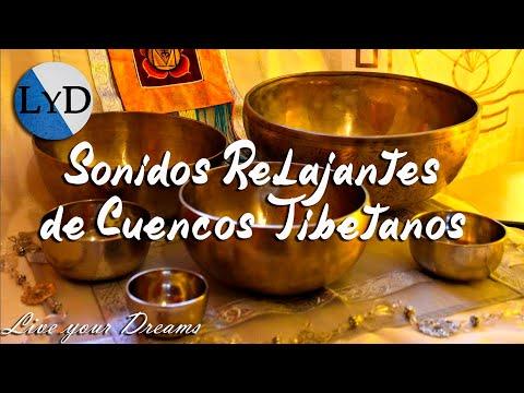 Cuencos Tibetanos: Sonidos Relajantes con Agua, Dormir, Meditación, Relajación, Armonizar Chakras