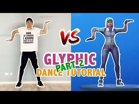 Glyphic Emote In Real Life (Tutorial Part 2) | Fortnite Dances