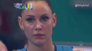 Nataliya Goncharova highlight in European Volleyball Champions